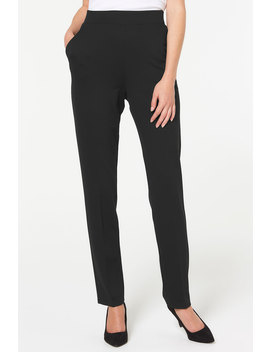 Tapered Leg Pull On Trousers Tapered Leg Pull On Trousers by Bonmarché