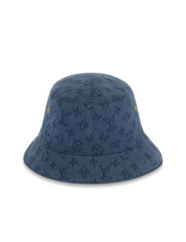 Monogram Denim Hat by Louis Vuitton