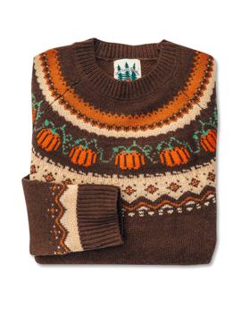 The Cozy Pumpkin Sweater by Kiel James Patrick