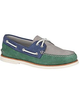 Men's Gold Cup Authentic Original Tri Tone Boat Shoe by Sperry
