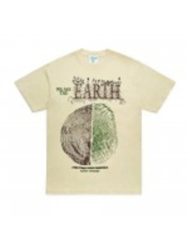 Online Ceramics We Are The Earth T Shirt (Natural) by Dover Street Market