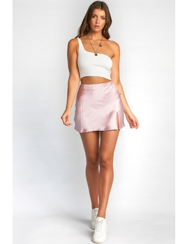 Britney Skirt   Pink Silky by Stelly
