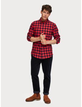 Flannel Shirt <Br> Regular Fit by Scotch&Soda