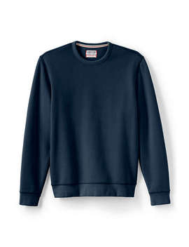 Men's Tall Long Sleeve Serious Sweats Crewneck Sweatshirt by Lands' End