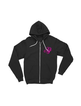 Aaliyah Jay: Signature Zip Up Hoodie by Fanjoy