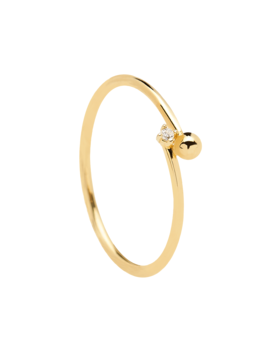 Essentia Gold Ring by P D Paola