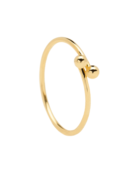 Aura Gold Ring by P D Paola
