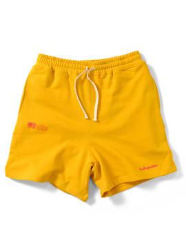 Lafayette Lafayette Sweat Shirt Shorts Men Man Half Underwear Shorts Short Pants Short Inseam Sweat Shorts Lft19 Ss044 Gold Gold Yellow Yellow Yellow by Rakuten Global Market
