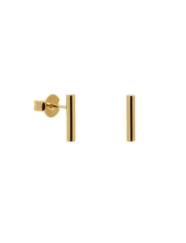 Stick Gold Earrings by P D Paola