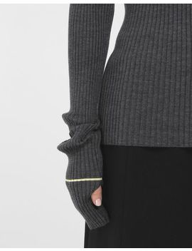 Stripe Wool Sweater by Maison Margiela