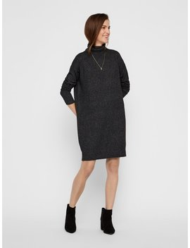 Rollneck Dress by Vero Moda