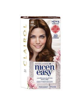 Clairol Nice 'n Easy Permanent Hair Color, 4 R Dark Auburn1.0oz by Walgreens