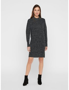 Knitted Midi Dress by Vero Moda