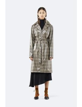 Check Overcoat by Rains