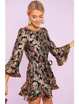 Rose Purl Marissa Mini C Dress by Saloni