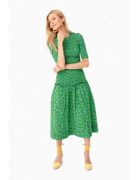 Green Zola Dress by Rhode Resort
