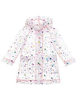 Girls Transparent Raincoat by Stella Mc Cartney Kids
