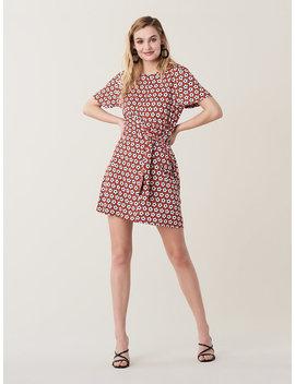 Teresa Silk Jersey Mini Dress by Dvf