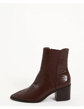 Boots Croco by Pimkie