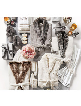 Faux Fur Robe   Ivory Alpaca by Pottery Barn