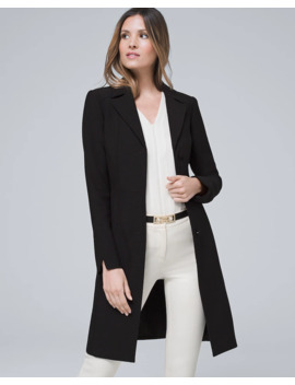 Notched Collar Coat by Whbm