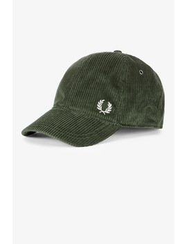 Corduroy Cap by Fred Perry