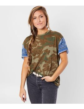 Clarity Camo T Shirt by Free People