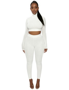 The Nw Tight &Amp; Turtleneck Set by Naked Wardrobe