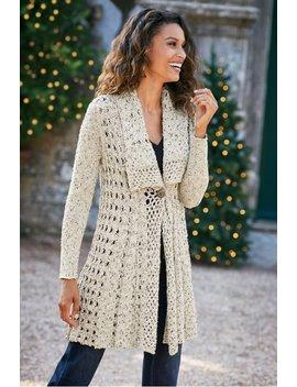 Teressa Crochet Cardi by Soft Surroundings