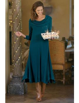 B'call Dress I Cowl Neck Dress by Soft Surroundings