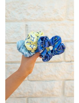 Sydney Serena 3 Pack Scrunchies by Fanjoy