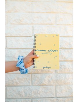 Sydney Serena: Yellow Dream Chaser Notebook by Fanjoy