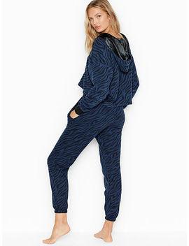 Fleece Crop Hoodie by Victoria Sport