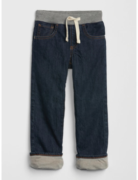 Toddler Jersey Lined Straight Jeans by Gap