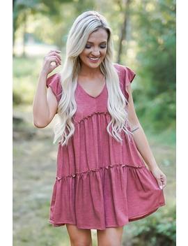 Corinth Rust Dress by Rosie Daze