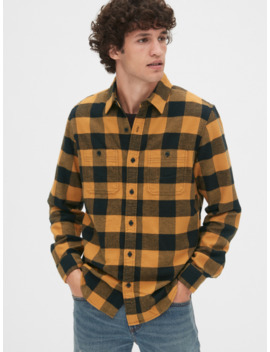 Flannel Work Shirt by Gap