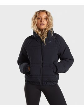 Essential Puffer Jacket by Gymshark