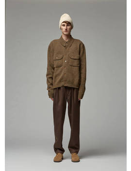 Knitted Military Shirt by Lemaire