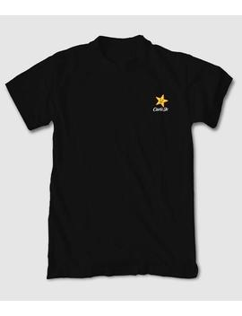 Home Mens Short Sleeve T Shirts Carl's Jr Star Logo Embroidered Mens T Shirt Carl's Jr Star Logo Embroidered Mens T Shirt by Riot Society