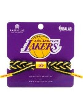 Los Angeles Lakers Rastaclat Team Signature Home Bracelet by Rastaclat