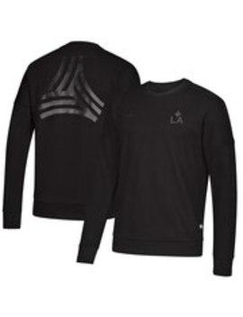 La Galaxy Adidas Tango Crew Neck Pullover Sweatshirt   Black by Adidas