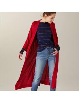 Khimori Silk Cashmere Robe Red by Naadam