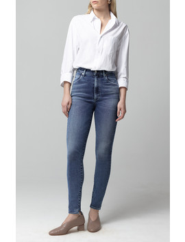 Chrissy High Rise Skinny In Flicker by Citizens Of Humanity