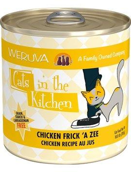 Weruva Cats In The Kitchen Chicken Frick 'a Zee Chicken Recipe Au Jus Grain Free Canned Cat Food by Weruva