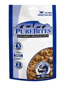 Pure Bites Ocean Medley Freeze Dried Raw Cat Treats, 0.77 Oz Bag by Pure Bites
