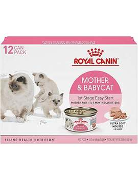 Royal Canin Mother & Babycat Ultra Soft Mousse In Sauce Variety Pack Wet Cat Food, 3 Oz., Count Of 12 Royal Canin Mother & Babycat Ultra Soft Mousse In Sauce Variety Pack Wet Cat Food, 3 Oz., Count Of 12 by Royal Canin