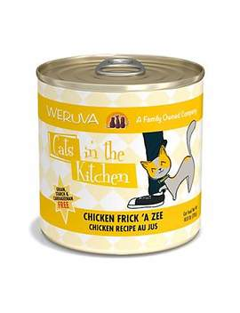 Cats In The Kitchen Chicken Frick 'a Zee Chicken Recipe Au Jus Wet Cat Food, 10 Oz., Case Of 12 Cats In The Kitchen Chicken Frick 'a Zee Chicken Recipe Au Jus Wet Cat Food, 10 Oz., Case Of 12 by Weruva