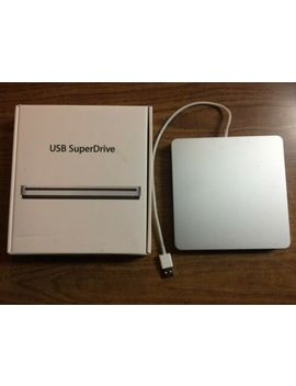 Apple Usb Superdrive Dvd & Cd Burner / Player Md564 Zm/A A1379 by Ebay Seller