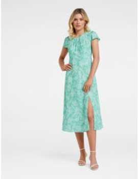 Wren Split Midi Dress by Forever New