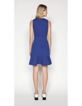 Cobalt Zip Front Dress by Cue